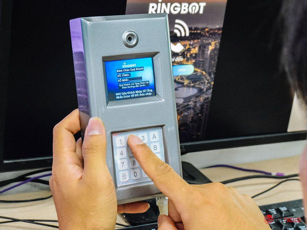 Sản phẩm khóa thông minh RingBOT của GMO-Z.com RUNSYSTEM sẽ