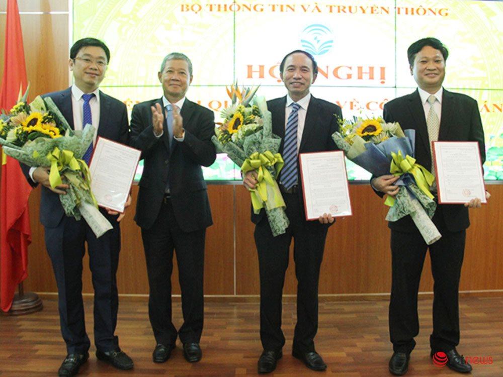 Bộ TT&TT bổ nhiệm 2 Phó Cục trưởng Cục An toàn thông tin |Bổ nhiệm ông Nguyễn Trọng Đường và ông Nguyễn Khắc Lịch làm Phó Cục trưởng Cục An toàn thông tin