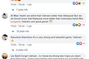 Dân mạng Malaysia khâm phục, gọi Việt Nam là 'vua bóng đá Đông Nam Á'