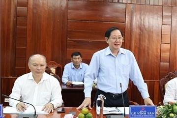 Bộ trưởng Bộ Nội vụ: Quảng Ngãi cần quyết liệt tinh giảm biên chế, mục tiêu giảm chi ngân sách