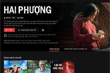 Nền tảng xem phim và giải trí Netflix đã có giao diện và phụ đề tiếng Việt