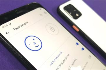 Google Pixel 4 mở khóa bằng khuôn mặt ngay cả khi bạn nhắm mắt