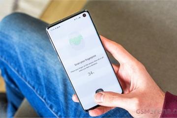 Samsung sẽ vá lỗi mở khóa vân tay vô tội vạ trên Galaxy S10