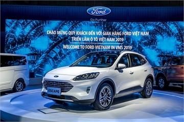 Ford Escape tái xuất tại Triển lãm ô tô Việt Nam: Ford tập trung vào thế mạnh SUV