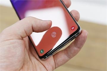 Samsung vá lỗi vân tay nguy hiểm trên Galaxy S10 và Note 10