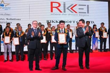 Rikkeisoft xuất sắc đạt danh hiệu doanh nghiệp CNTT hàng đầu Việt Nam năm 2019