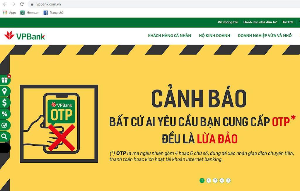 Cảnh báo chiến dịch lừa đảo mạo danh ngân hàng VPBank   CyRadar cảnh báo chiến dịch lừa đảo mạo danh ngân hàng VPBank