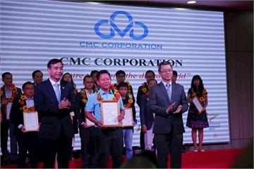 CMC nhận giải thưởng Doanh nghiệp có năng lực công nghệ 4.0 tiêu biểu