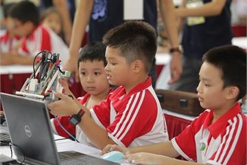 Ngày hội Robothon và WeCode hướng tới trang bị kỹ năng cần thiết trong thời đại 4.0 cho học sinh Việt Nam