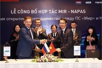 NAPAS và NSPK triển khai thanh toán thẻ nội địa mang thương hiệu của Nga tại Việt Nam