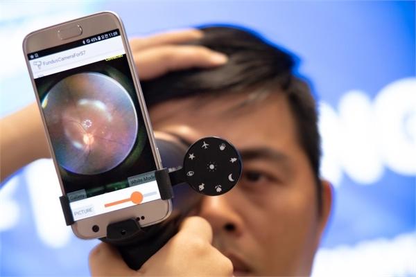 Samsung khởi động dự án chăm sóc nhãn khoa tại Việt Nam
