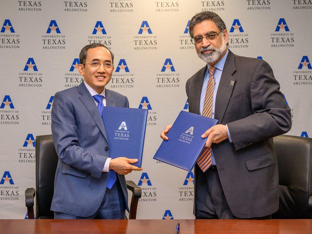 ĐH Phenikaa và ĐH Texas Arlington sẽ phát triển các chương trình đào tạo liên kết lĩnh vực công nghệ