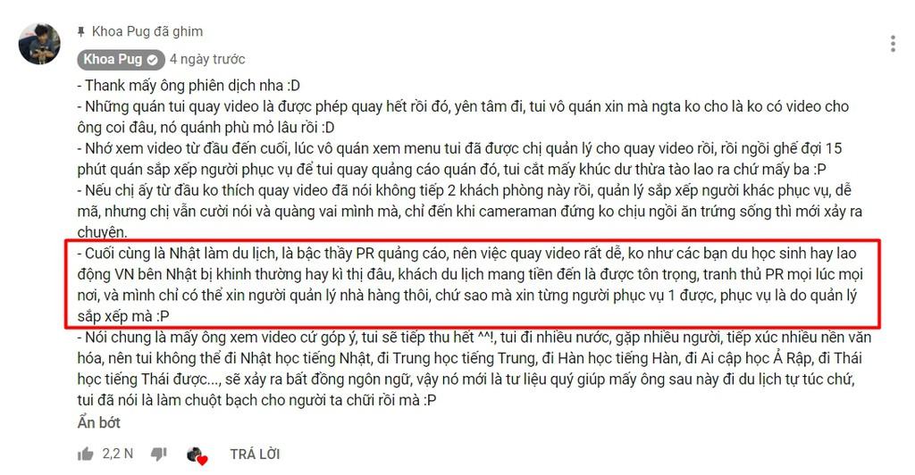 Cong thuc cau view gay tranh cai cua YouTuber Khoa Pug hinh anh 3