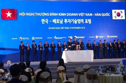 Phó Thủ tướng Trịnh Đình Dũng kêu gọi doanh nghiệp Hàn Quốc đến Việt Nam để tạo ra các sản phẩm 4.0