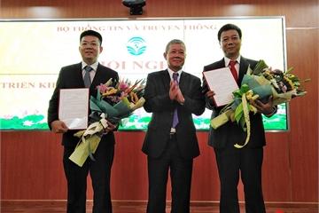 Bộ TT&TT điều động, bổ nhiệm thêm 2 Phó Cục trưởng cho Cục Tin học hóa