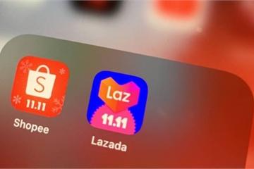 """Lazada, Shopee """"kiếm đậm"""", mở rộng vị thế trên thị trường nhờ ăn theo Lễ Độc thân của Alibaba"""