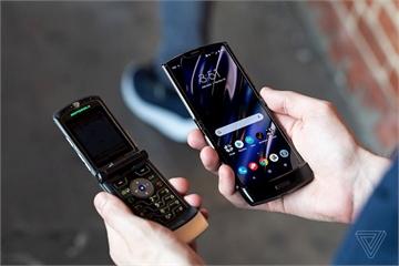 """Motorola hồi sinh """"huyền thoại Razr"""" với màn hình gập, giá 1.500 USD"""