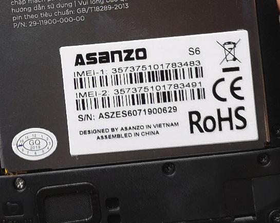 Ra mắt smartphone mới giống hệt smartphone Trung Quốc, Asanzo lý giải ra sao? - Ảnh 3.