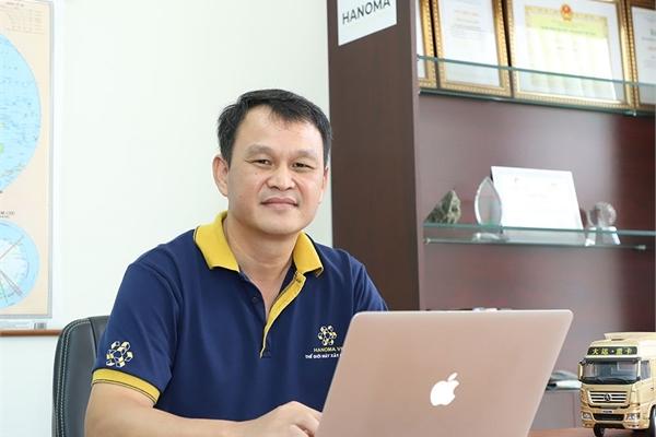 Không mua nổi thiết bị khai mỏ, CEO Hanoma quyết lập sàn giao dịch điện tử chuyên về máy móc