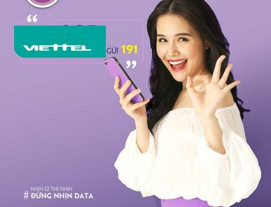 Hướng dẫn đăng ký 4G Viettel gói V120 60 GB/tháng