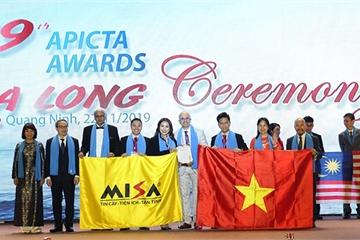 MISA thắng lớn tại giải thưởng quốc tế APICTA 2019