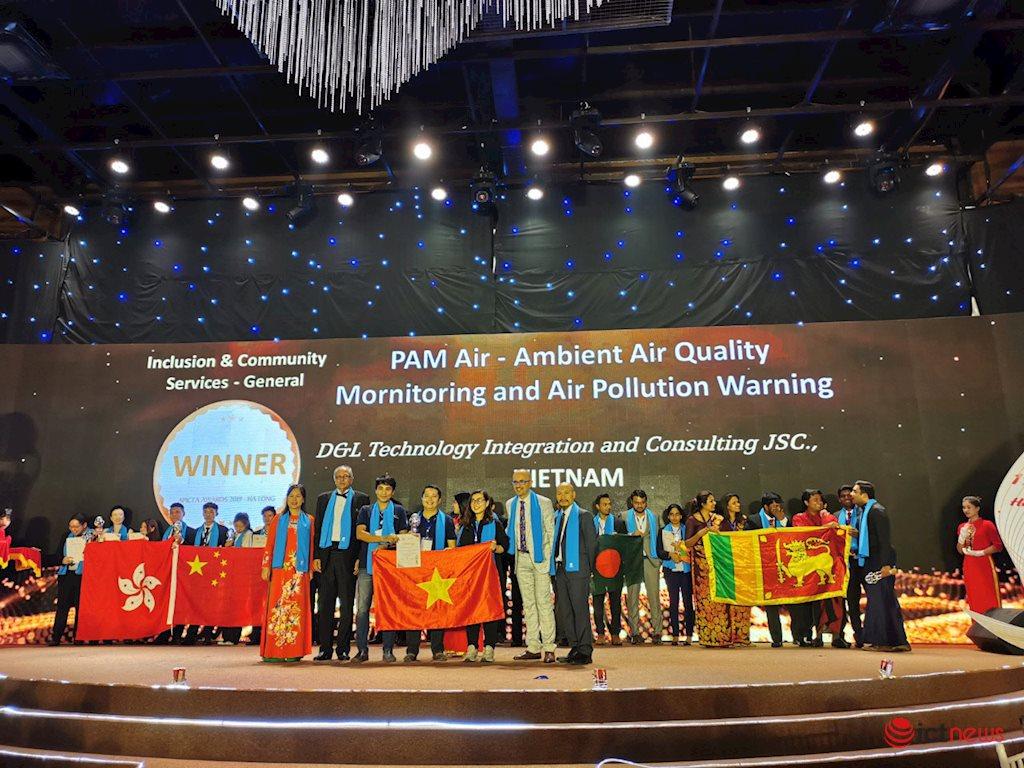 Giải thưởng APICTA 2019: Trao 24 cúp cho các sản phẩm CNTT xuất sắc | Giải pháp giám sát chất lượng không khí PAM Air của Việt Nam đoạt giải APICTA 2019