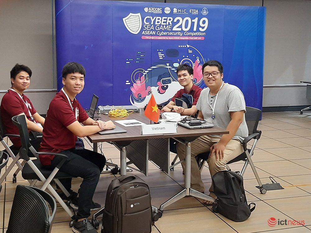 Sinh viên Việt Nam giành giải Nhì cuộc thi an toàn thông tin Cyber SEA Game 2019