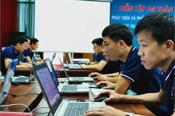 Vĩnh Phúc diễn tập đảm bảo an toàn thông tin phục vụ phát triển chính quyền điện tử