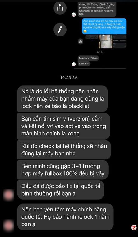 Mua iPhone XS Max quoc te, dung 1 thang thanh may lock tai VN hinh anh 2