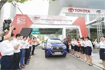 Hành trình 5 châu cùng Toyota 2019 kết thúc tại Việt Nam