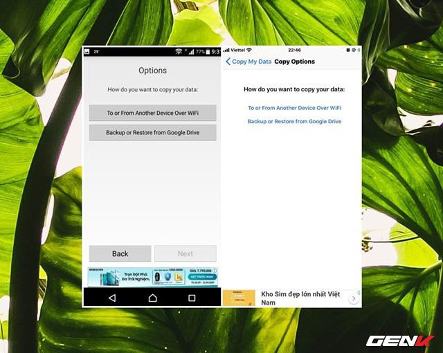 Chuyển nhanh dữ liệu qua lại giữa iOS và Android với Copy My Data - Ảnh 6.