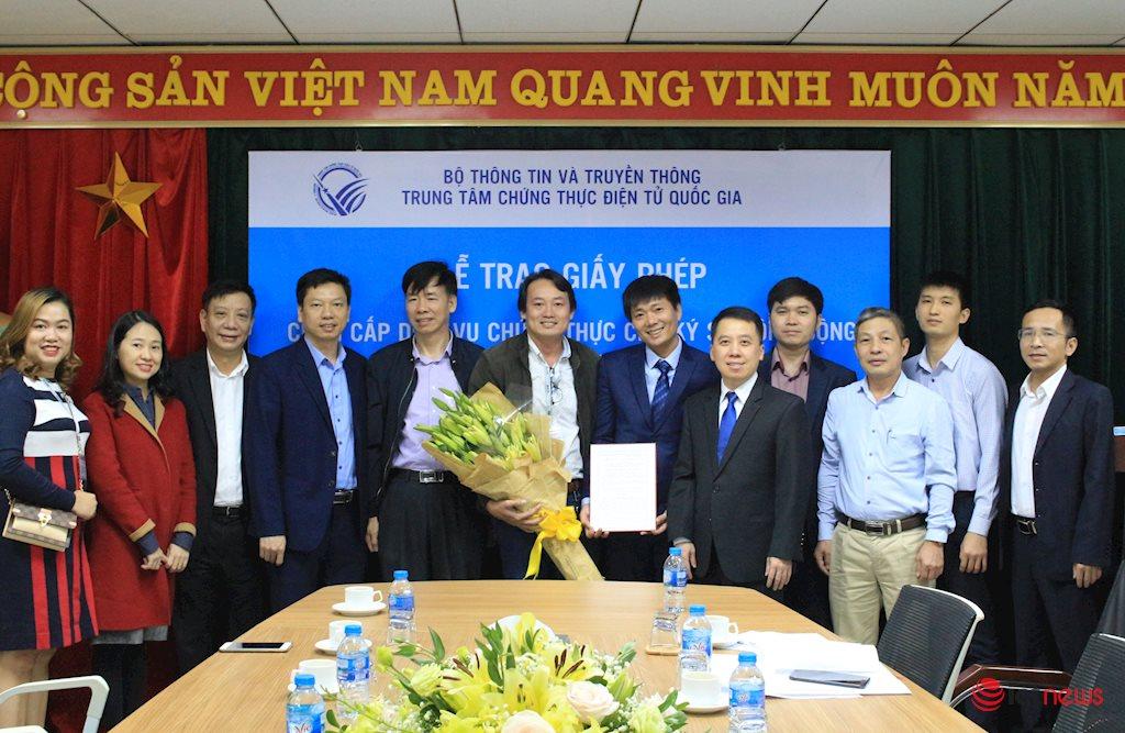 Công ty L.C.S được cấp phép cung cấp dịch vụ chứng thực chữ ký số công cộng | Việt Nam đã có 14 nhà cung cấp dịch vụ chứng thực chữ ký số công cộng