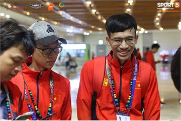 SEA Games 30 – Những hình ảnh đầu tiên của đội tuyển Mobile Legends: Bang Bang Việt Nam