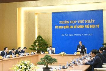 Thủ tướng phê duyệt danh sách mới các thành viên Ủy ban quốc gia về Chính phủ điện tử