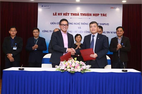 VNG và VNPT bắt tay phát triển công nghệ đám mây tại thị trường Việt Nam