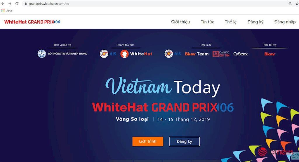 Khởi động cuộc thi an toàn không gian mạng toàn cầu WhiteHat Grand Prix 06   WhiteHat Grand Prix 06: Tìm kiếm lỗ hổng trên các hệ thống thông tin quan trọng   WhiteHat Grand Prix lần đầu thi tìm kiếm lỗ hổng trên hệ thống thông tin quan trọng