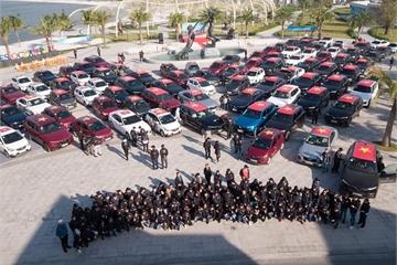Gần 100 xe VinFast khởi động hành trình chinh phục địa đầu Tổ quốc