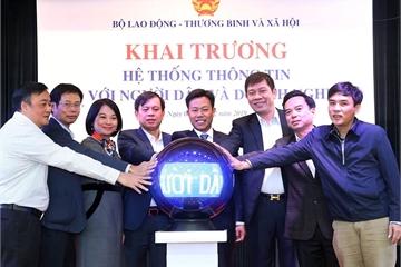 Khai trương hệ thống thông tin kết nối Bộ LĐTB&XH với người dân, doanh nghiệp