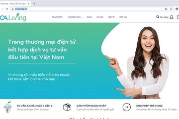 Ra mắt trang thương mại điện tử đi kèm tư vấn trực tiếp khách hàng