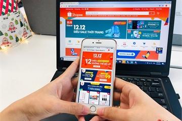 """Shopee: Số điện thoại bán ra trong sự kiện """"12.12 Sale Sinh Nhật"""" có thể phủ kín 3 sân bóng đá"""