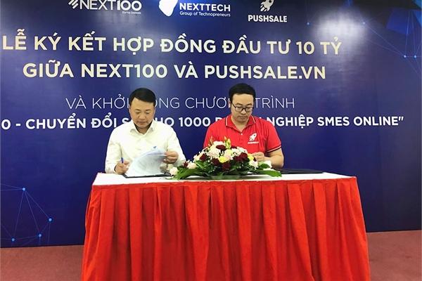 Shark Nguyễn Hòa Bình đầu tư vào Pushsale.vn, muốn startup chuyển đổi số tấn công sang thị trường Đông Nam Á