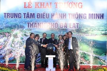 Chính thức ra mắt Trung tâm điều hành thông minh Thành phố Đà Lạt