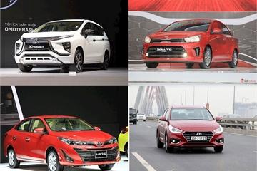 10 xe ăn khách nhất Việt Nam thay đổi ngoạn mục: Toyota Vios, Mitsubishi Xpander nhường chỗ cho các mẫu xe Hyundai