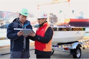 SK Telecom và Samsung thử nghiệm thành công tàu thủy tự lái trên nền tảng dẫn đường tự động 5G