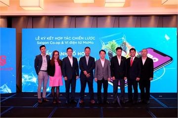 Saigon Co.op và Ví MoMo ký hợp tác chiến lược, đẩy mạnh số hoá toàn hệ thống siêu thị