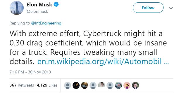 Anh YouTuber làm bài thử khí động lực học cho xe Cybertruck: hóa ra cục gạch 4 bánh này xé gió vút đi dễ dàng hơn bạn tưởng! - Ảnh 2.