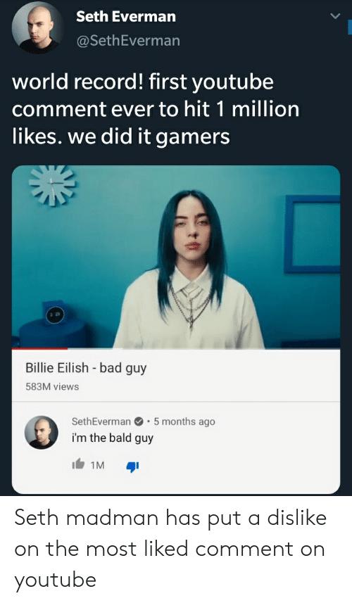 Anh chàng hói này là người đầu tiên trên thế giới có comment YouTube đạt 1 triệu like - Ảnh 4.