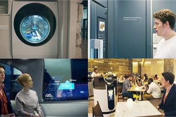 """CES 2020: Các """"ông lớn"""" công nghệ Hàn Quốc trình diễn nhiều ứng dụng AI phục vụ đời sống"""