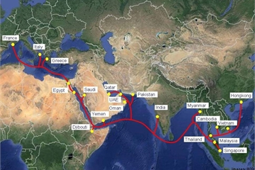 3 tuyến cáp AAG, IA và AAE-1 cùng gặp sự cố, ảnh hưởng khoảng 30% tổng dung lượng Internet Việt Nam