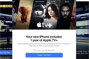 Đăng ký dùng thử Apple TV+ 1 năm như thế nào?